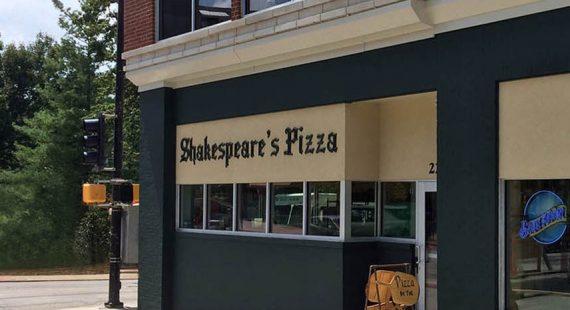 Shakespeare's Pizza Audio / Video Installation