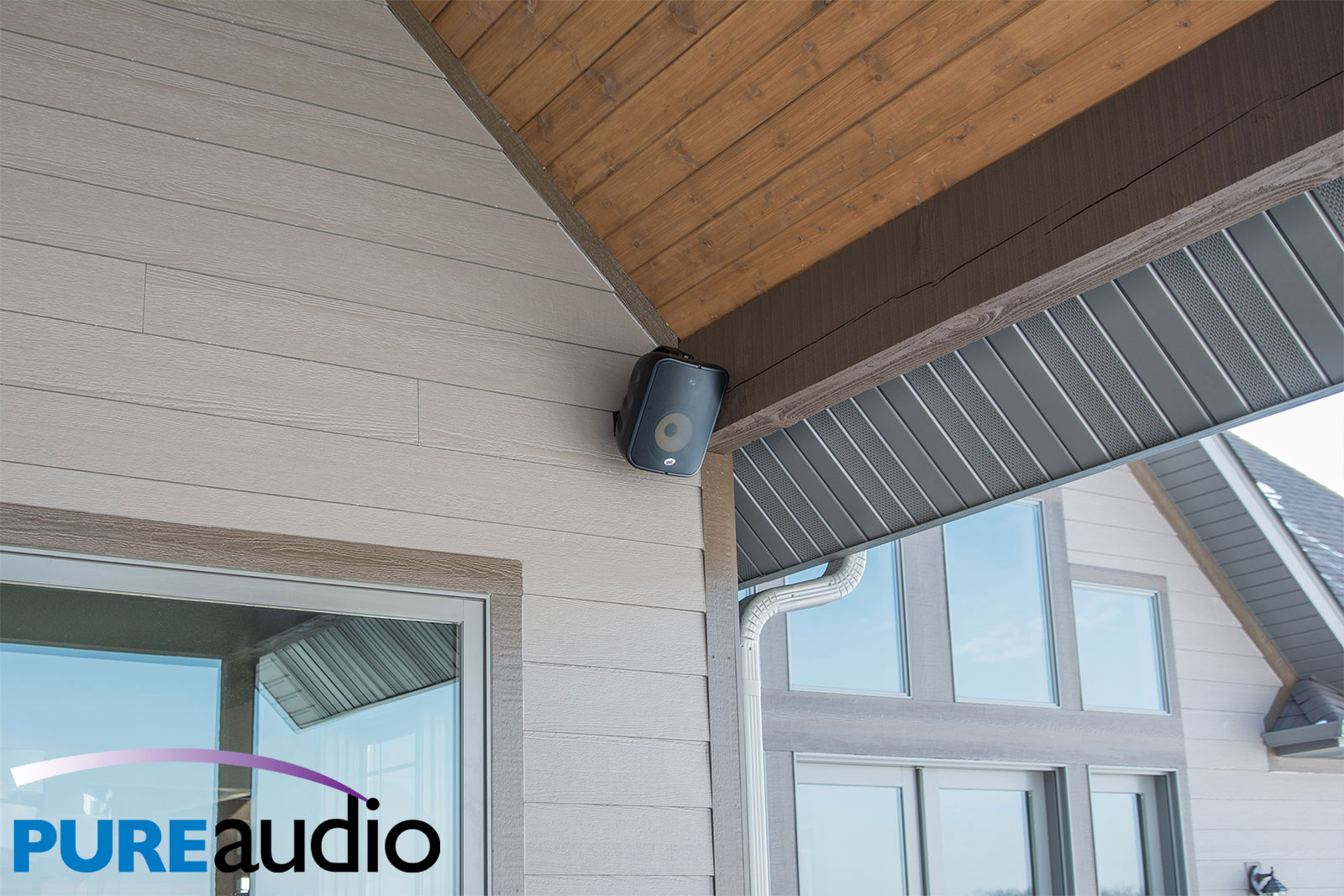 Outdoor Weather Proof Speaker can withstand Rain Snow Sleet and More for Whole Home Audio and Surround Sound Systems Pure Audio Columbia Missouri