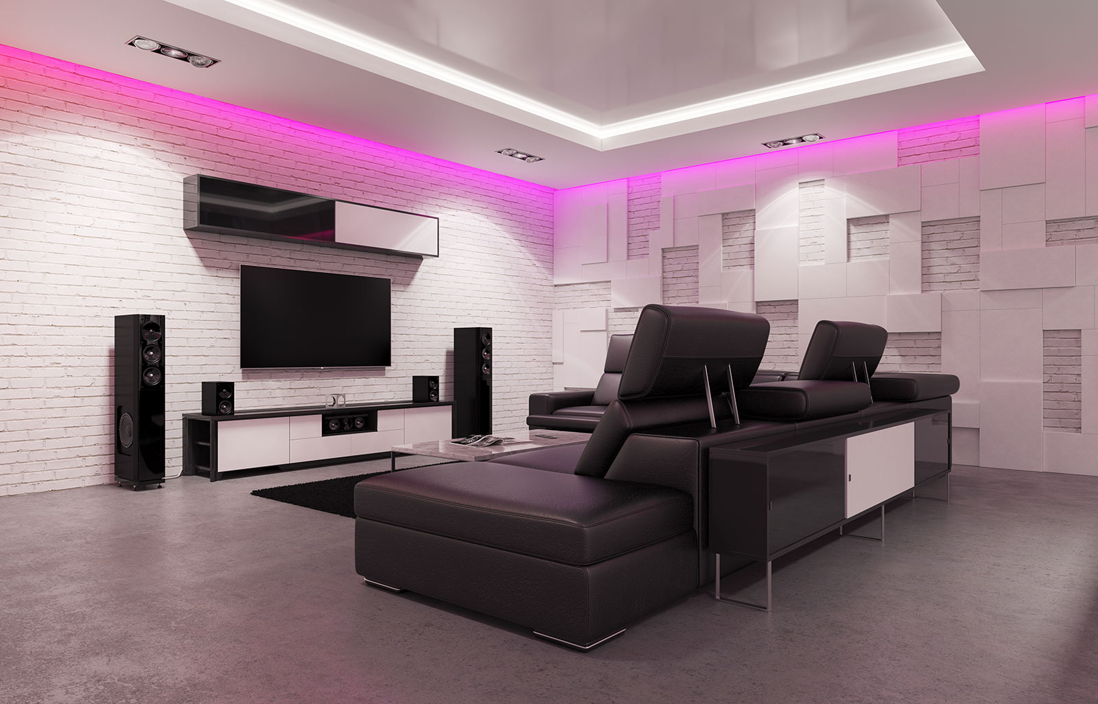 Make Your Home the Ultimate Staycation Location Family House Media Movie Theater Room